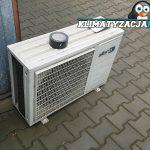 montaż klimatyzatora na szybkozłączkę
